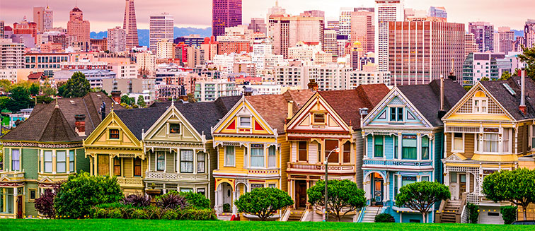 Painted Ladies casas de colores <em>San Francisco</em>