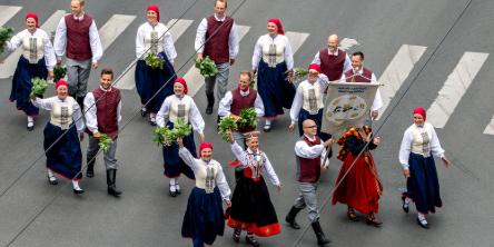 Fiestas en Repúblicas Bálticas