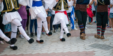 Fiestas en <em>Grecia</em>
